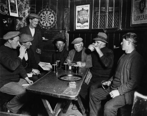 old pub scene